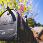 selective focus photography of a mailbox