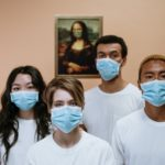 health workers wearing face mask